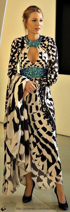 Stunning in this gorgeous maxi design.