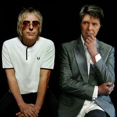Weller and Bowie