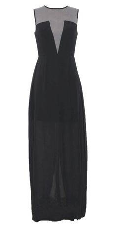 Sheer panel maxi new from Brand and Label on #NYLONshop