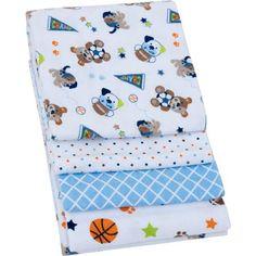 Walmart Swaddle Blankets Garanimals Boating Buddies 4Pack Flannel Receiving Blankets