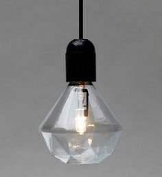 """swedish designer eric therner has created these beautiful enviromentally friendly, e-27 halogen light bulbs""