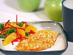 This honey crusted chicken recipe from the mayo clinic sounds amazing!