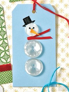 These 35 #DIY #Gift Tags Are The Gift Equivalent Of The Star On Top Of The Tree!