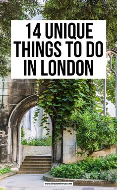 14 Unusual Things To Do In London - Linda On The Run Looking for unusual things to do in London? I adore London & here are my fave unusual things to do in London that you shouldn't miss when visiting the city. London England Travel, London Travel, Cool Places To Visit, Places To Travel, Travel Destinations, European Travel Tips, Painted Hills, London Guide, London Attractions