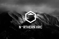 Northern Arc Logo Design / repinned on toby designs