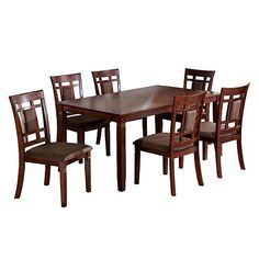 Dining Set More 7pc Dining Dining Table Board 7 Piece Dining Set