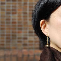earrings by Cristina Zazo