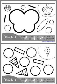 Preschool Writing, Preschool Worksheets, Preschool Art, Preschool Learning, Kindergarten Activities, Educational Activities, Classroom Activities, Preschool Activities, Kids Learning