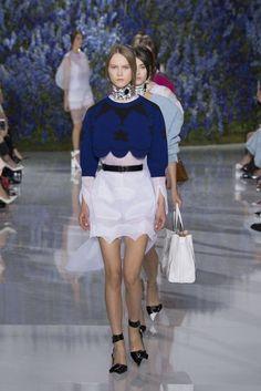 #SuzyPFW: Dior - Victorian Underwear | British Vogue@tshirtzoon