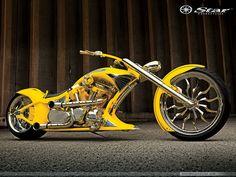 Chopper  Yellow Wallpaper