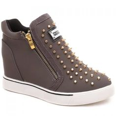 $29.40 Fashionable Zipper and Rivets Design Women's Ankle Boots