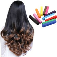 12 Pcs/Set Hair Chalks Multi-Color To Choose Temporary Color Hair Chalk Disposable Hair Extension Dye Chalk //FREE Shipping Worldwide //