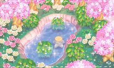 Image shared by G O D. Find images and videos about bts, flowers and kawaii on We Heart It - the app to get lost in what you love. Animal Crossing Villagers, Animal Crossing Pocket Camp, Animal Crossing Game, Trippy, Motif Acnl, Images Kawaii, Ac New Leaf, Animal Games, Pink Aesthetic