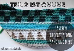 Taschen Crochetalong Teil 2 - http://schoenstricken.de/2014/08/taschen-crochetalong-teil-2/