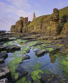 Faded Glory · Castle Sinclair, Scotland © Ian Cameron