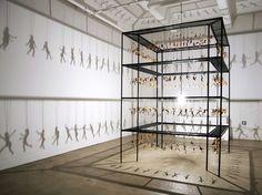 Des scènes érotiques à partir de poupées démembrées : le Shadow Art selon Bohyun Yoon