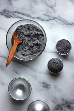 Activated charcoal is beloved for its detoxing abilities. This it-ingredient is credited with cleansing skin, whitening teeth and treating acne. Here are some DIY recipes for creating homemade bath bombs and soaps.