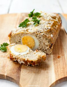 Pieczeń rzymska z indyka Weekday Meals, Roasted Turkey, Traditional Kitchen, Easter Recipes, Meatloaf, Main Dishes, Chicken Recipes, Cooking Recipes, Cooking Ideas
