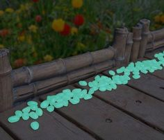 Glow in the Dark Pebbles ~ For the Home