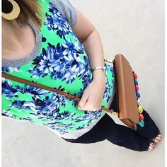 With Style & Grace: What I Wore: ootd, spring style