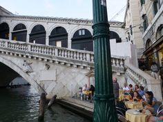 Venetië , Italië , Rialto Brug