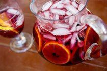 Best Party Sangria Recipe - really. I use champagne instead of ginger ale... decadent... but you're worth it!