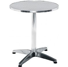 Crowne Aluminium Bistro Table  www.officefurnitureonline.co.uk
