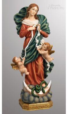 Statua Madonna che Scioglie i Nodi 41,5cm