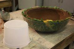 Leaf bowl 3   DIYmolds.com - Ornamental Concrete Statuary & Casting Forum