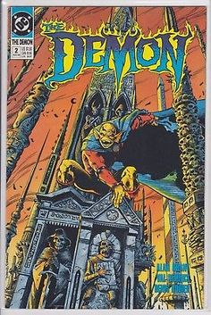 Demon #2 DC Comics (1990 3rd series) comic book