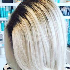 Heather Newsome @heather.kay2.0 hair goal #platin...Instagram photo | Websta (Webstagram)