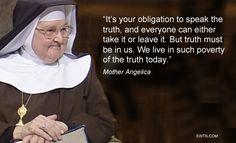 #ThursdayThought #Easter #MotherAngelica #EWTN