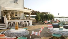 Casually stylish; The Surf Lodge in Montauk, NY #JetsetterCurator