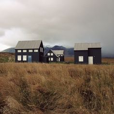 thelevelcollective: Abode This was a brilliantly quirky fishing village we came across on our adventures in Iceland last September - need to plan another trip - such an awesome country Outdoor Spaces, Indoor Outdoor, Hudson Woods, Contemporary Cabin, A Well Traveled Woman, Outdoor Supplies, Victorian Cottage, Modern Ranch, Modern Farmhouse Exterior