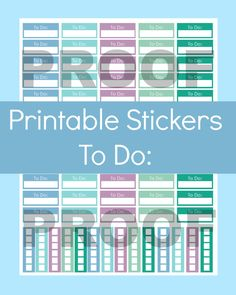 New to CommandCenter on Etsy: To Do List Stickers To Do Stickers To Do List Erin Condren To Do List Planner Stickers Printable Planner Stickers Printable Stickers (1.99 USD)