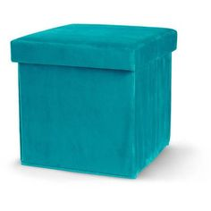 Mainstays Collapsible Storage Ottoman, Multiple Colors - Walmart.com