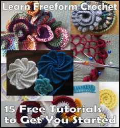 Learn Freeform Crochet: 15 Free Tutorials to Get You Started
