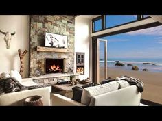fireplace living screensaver cosy sound crackling fire scene hrs relax