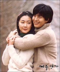 Winter Sonata (겨울연가) 2002 Bae Yong Joon, Kdrama, Korean Drama Series, Jane Eyre, Korean Men, Good Movies, Singing, Tv Shows, Japanese