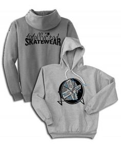 For all those roller derby fans out there- Derby Fan Hoodie $29.99 via Totally Rad Skatewear.