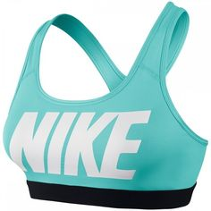 05511c1b8c Nike Pro Classic Logo Women s Sports Bra ( 24) ❤ liked on Polyvore  featuring activewear