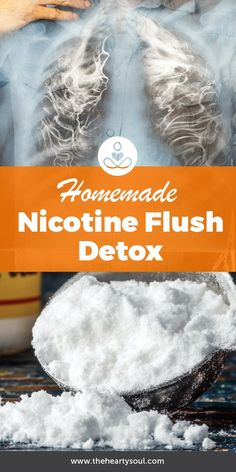 Smoking is one of the worst habits that you can indulge for your lungs and overall health overall health. This homemade remedy can flush out some of the built up nicotine in your system- detox and breathe easier! Body Detox Cleanse, Full Body Detox, Detox Tips, Smoothie Detox, Smoothies, Lung Cleanse, Quit Smoking Tips, Anti Smoking, Home Remedies