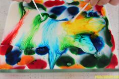 How to make art with Milk! The results to this easy experiment are AMAZING!