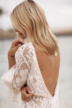 lace maxi dress    tuula