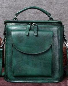 Genuine Leather Handbag Vintage Satchel Bag Shoulder Bag Crossbody Bag  Purse For Women  Satchels   c201ade782089