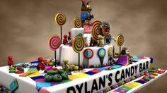 I love Dylans candy bar & this cake.