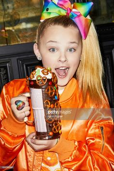 Singer, actress Jojo Siwa is photographed for Tiger Beat on March 17, 2017 at the Sugar Factory in New York City. ON