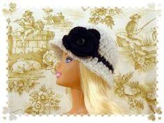 Crochet Classic Cloche for Barbie