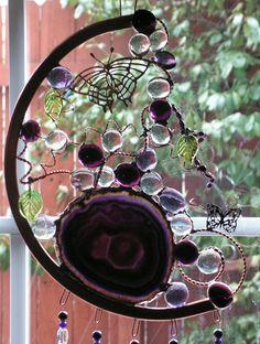 Windchime using Purple Agate Copper