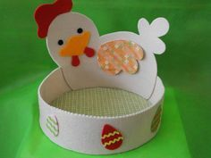nid de pâques Easter Art, Easter Crafts, Easter Bunny, Crafts To Make, Crafts For Kids, Arts And Crafts, Easter Hat Parade, Easter Activities For Kids, Letter A Crafts